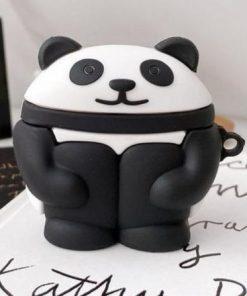 Cute Panda 'Hugging Knees' Premium AirPods Pro Case Shock Proof Cover