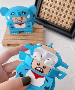 Lego Man 'Elephant' Premium AirPods Case Shock Proof Cover