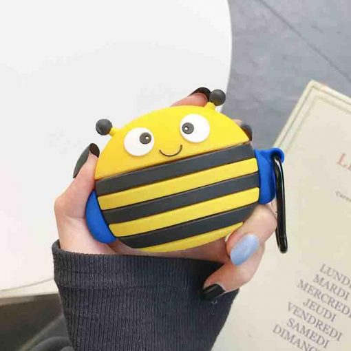 Cute Wacky Bumblebee Premium AirPods Pro Case Shock Proof Cover