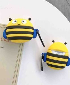 Cute Wacky Bumblebee Premium AirPods Case Shock Proof Cover