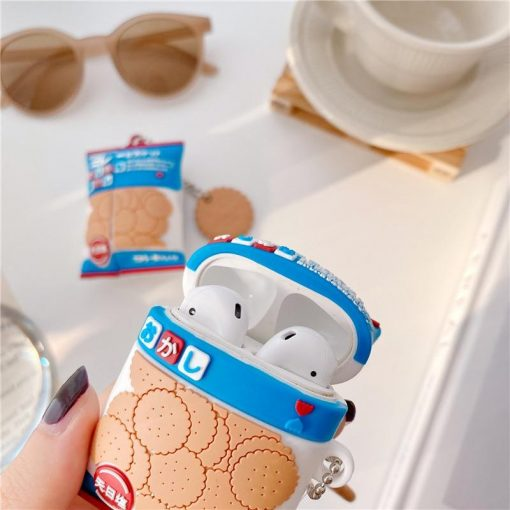 Japanese Cookies Premium AirPods Case Shock Proof Cover
