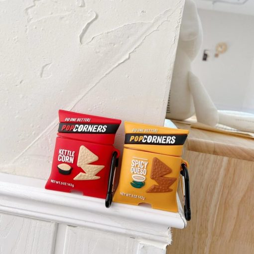 Pop Corners Snack Premium AirPods Case Shock Proof Cover