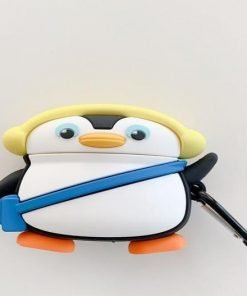 Cute Winter Penguin Premium AirPods Pro Case Shock Proof Cover