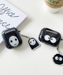 Spirited Away 'No Face' AirPods Case Shock Proof Cover
