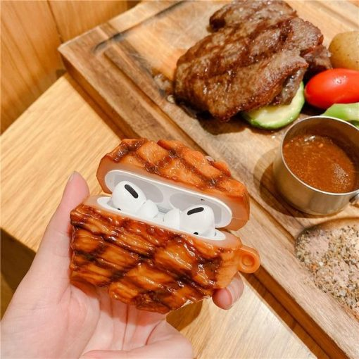 French Steak Premium AirPods Pro Case Shock Proof Cover