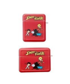 Street Fighter 'Ken and Ryu' AirPods Case Shock Proof Cover