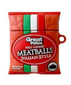 Italian Meatballs Premium AirPods Case Shock Proof Cover