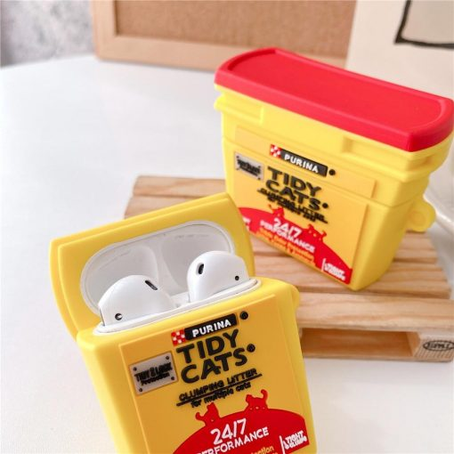 Tidy Cat Litter Premium AirPods Case Shock Proof Cover