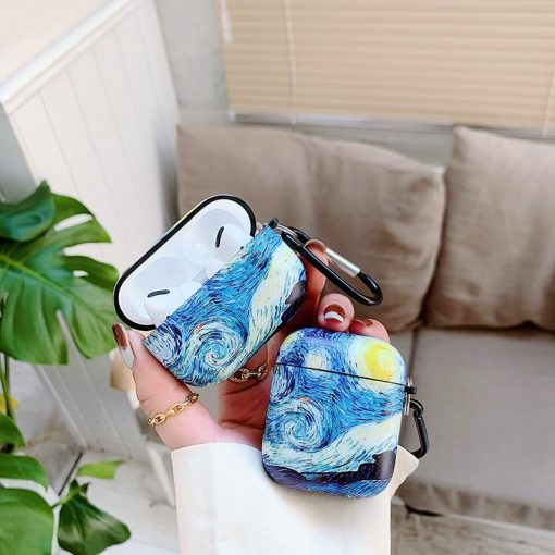 Van Gogh Oil Painting AirPods Pro Case Shock Proof Cover