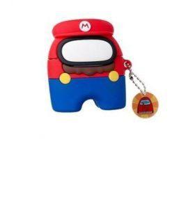 Among Us 'Super Mario' Premium AirPods Pro Case Shock Proof Cover