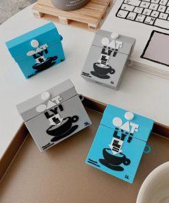 Oatmeal Milk Carton Premium AirPods Pro Case Shock Proof Cover