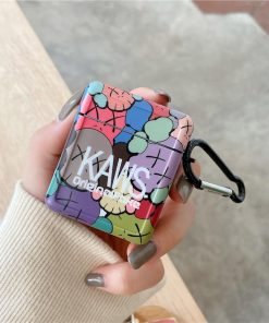 KAWS 'Rainbow   Modular' AirPods Case Shock Proof Cover