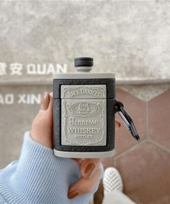 Whiskey Flask 'Jack' Premium AirPods Case Shock Proof Cover
