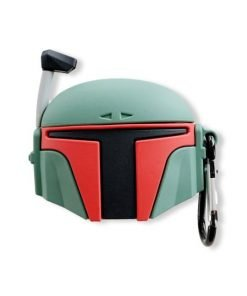 Star Wars 'Boba Fett Helmet | No Damage' Premium AirPods Case Shock Proof Cover
