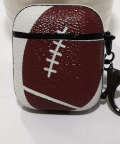 Football AirPods Case Shock Proof Cover