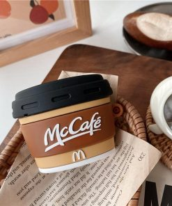 McDonald's McCafe Coffee Premium AirPods Pro Case Shock Proof Cover