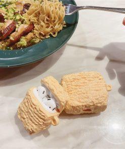 Ramen Noodles AirPods Case Shock Proof Cover