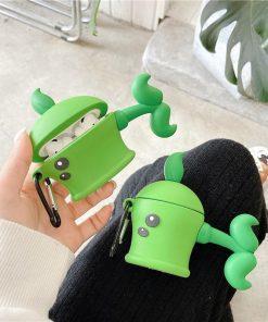 Cute Cartoon Pea Case Premium AirPods Pro Case Shock Proof Cover