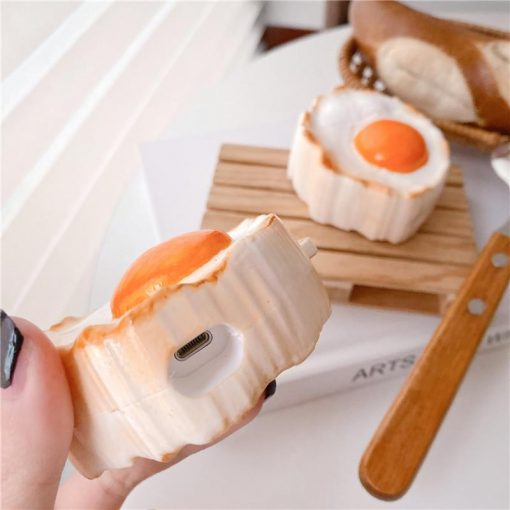 Poached Egg Premium AirPods Case Shock Proof Cover
