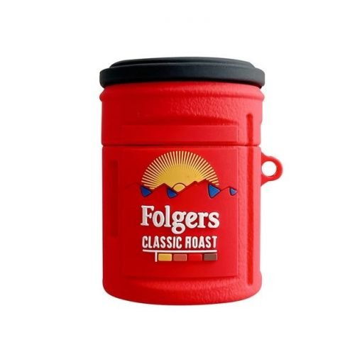 Folgers Coffee Premium AirPods Case Shock Proof Cover