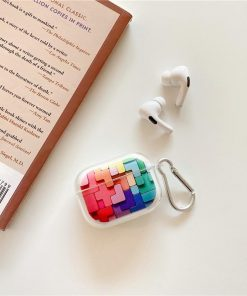 Building Block Puzzle AirPods Pro Case Shock Proof Cover