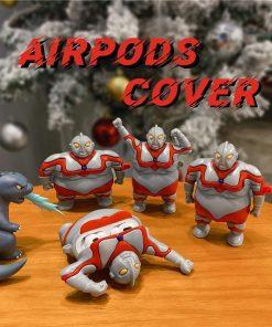 Fat Ultraman Premium AirPods Pro Case Shock Proof Cover