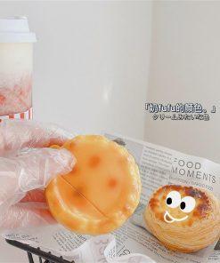 Portuguese Pastel de Nata Egg Tart Premium AirPods Case Shock Proof Cover
