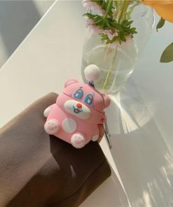 Party Hat Teddy Bear Premium AirPods Pro Case Shock Proof Cover